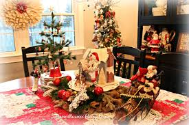 priscillas christmas in the dining room 2014