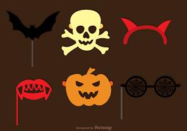 halloween vector art halloween photobooth halloween set download free vector art