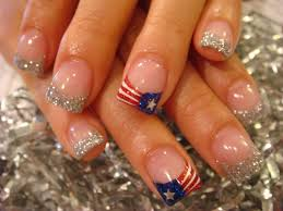 fourth of july nails three easy designs youtube 4th of july nail