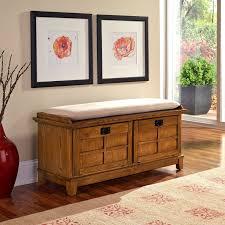 Cedar Bedroom Furniture Belham Living Cedar Chest Mission Bench With Cushion Oak Hayneedle