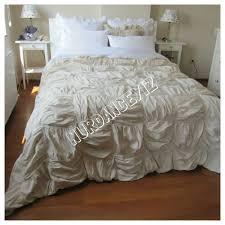 square ruched bedding duvet cover full queen king custom