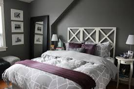 White Headboard Room Ideas Bedroom Cozy Gray And Purple Bedroom Design Ideas Using Tufted