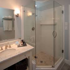 Bathroom Shower Remodel Ideas by Small Bathroom Design Ideas With Showers Idea In White Traditional