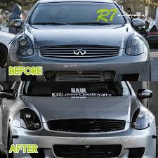 direct upgrade for 03 07 infiniti g35 coupe jdm sport black