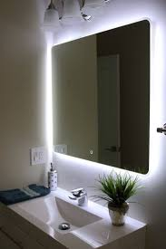 Ideas For Bathroom Mirrors Bathroom Mirror With Lights Built In U2013 Harpsounds Co
