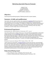 Resume Examples Resume Sample Professional Resume Sample Career Objective For Marketing And Sales Objective For Resume