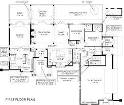 House Plan With Basement by Astounding Rambler House Plans With Basement 87 For Your Decor