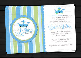 Invitation Cards For Baby Shower Templates Little Prince Baby Shower Invitations Plumegiant Com