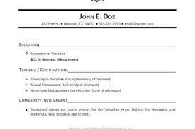 relevant coursework resume Best Resume Example FAMU Online