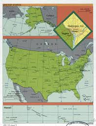 The Map Of The United States Of America by Large Detailed Political And Administrative Map Of The Usa 1999