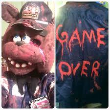Security Guard Halloween Costume Dead Security Guard Cosplay Fnaf 1 Cannibalvegan Deviantart