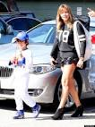 LeAnn Rimes' Short Shorts Make An Appearance At Step-Son's ...