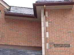 copper gutters custom ogee copper gutter installation new