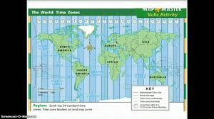 Time Zone Map United States Of America by Time Zones Youtube