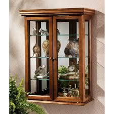 Living Room Interior Wall Design Small Wall Hung Curio Cabinetswall Hung Curio Cabinets With Glass