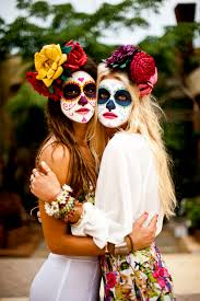The 15 Best Sugar Skull Makeup Looks For Halloween Halloween by 16 Bff Halloween Costumes Perfect For You And Your Friends Cabo