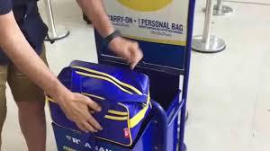 taking full advantage of ryanair u0027s cabin baggage allowance youtube