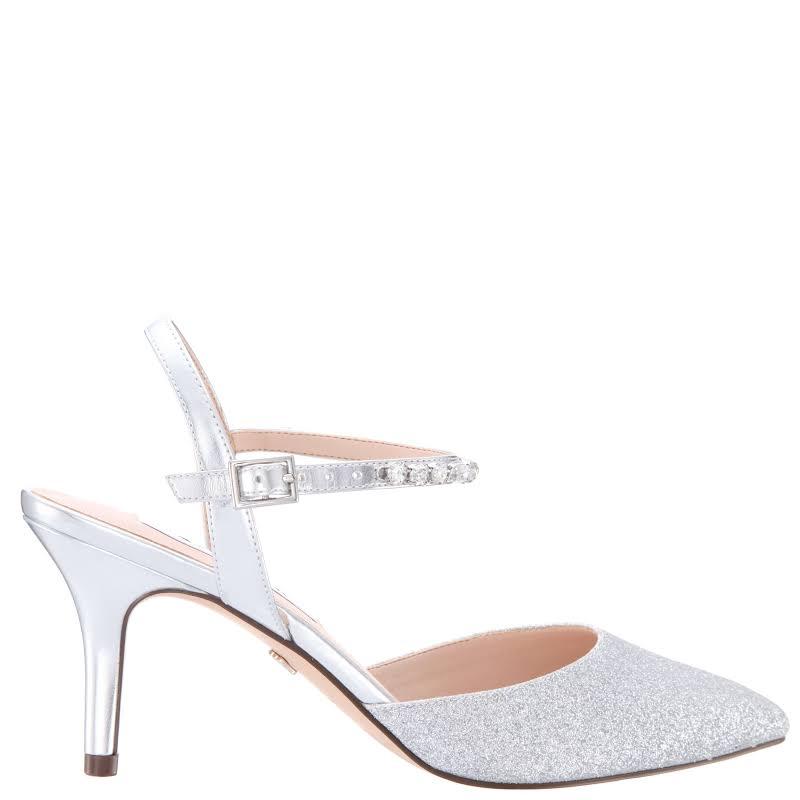 Nina Tonya Heels Silver- Womens