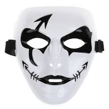 purge mask halloween city aliexpress com buy party mask white hip hop mask halloween scary