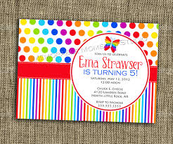 Create Birthday Invitation Card Online 14 Awe Inspiring Rainbow Birthday Party Invitations Theruntime Com