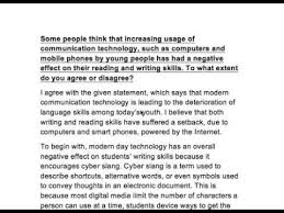 Effect of modern Communication technology on reading and     Effect of modern Communication technology on reading and writing skills   YouTube