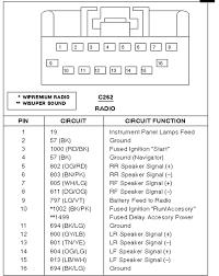 ford car radio stereo audio wiring diagram autoradio connector
