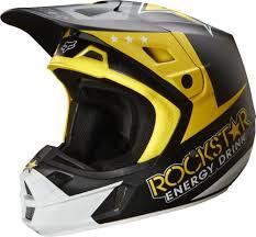 white motocross helmets fox v2 rockstar motocross helmets