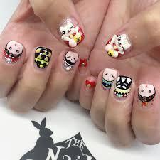 mamma mia mario character nail art chalkboard nails nail art elmo