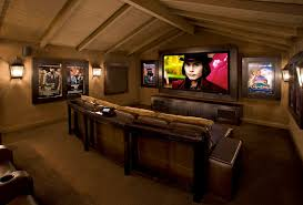 Home Movie Theater Wall Decor Home Theater Wall Decor Home Theater Rustic With Theater Seating