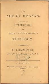 Meet Thomas Paine   Hoku House Hoku House Title Page from The Age of Reason