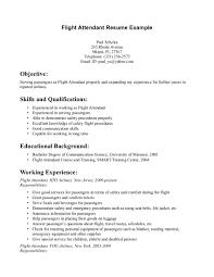 Best Resume Qualifications flight attendant resume skills writing resume sample writing