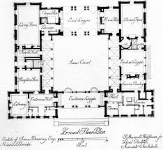 images about courtyard homes house plans mid and home trends