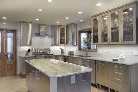 wood elite plus plain door winter white stainless steel kitchen