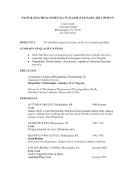 Sample Resume Qualifications List by Sample Resume Hospitality Skills List Free Resume Example And