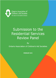 ontario association of children u0027s aid societies