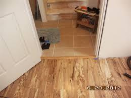 Laminate Flooring No Transitions Laminate Floor Tile Transition