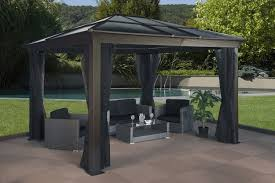 patio gazebos and canopies hardtop gazebos best 2017 choices sorted by size