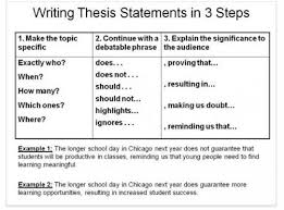 Resume Examples    How To Write A Thesis Statement Example