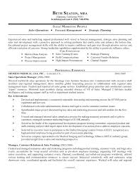 Mba Sample Resume by Sample Resume For Operations Manager Construction Project Manager