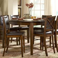 weston home verona counter height dining table distressed amber