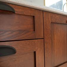 Kitchen Cabinets Stain Staining Kitchen Cabinets At Home Kitchens Craftsman And House