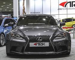 nissan 370z ark exhaust sffl 1501 ark solus widebody front bumper lip lexus is300