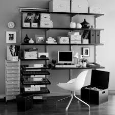 Home Office Wall Decor Ideas The Chic Decor Design Ideas Home In Black And White Www A2sk Com