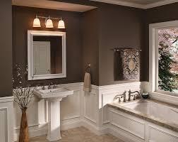 decoration extraordinary wall mounted dark brown wooden bath