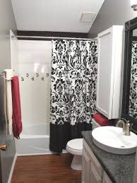 Pink Tile Bathroom Ideas Colors Black And White And Pink Bathroom Decor Walls Painted Of White