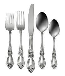 oneida louisiana floral fiddleback stainless steel flatware dillards