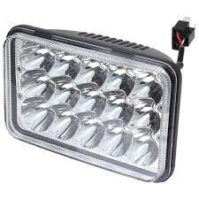 kenwood t600 rectangular 4x6 inch led headlight bulb sealed beam replace hid