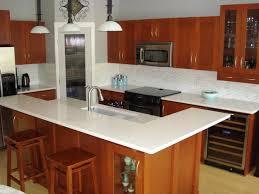 kitchen counter top thick white quartzite countertop farmhouse