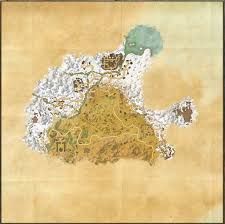 Coldharbour Ce Treasure Map Maps Of The Elder Scrolls Online Exploring The Elder Scrolls
