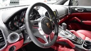 Porsche Cayenne Inside - 2014 porsche cayenne turbo s detroit 2013 walkaround youtube